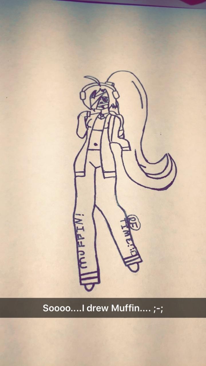 Soooo....I drew Muffin ;-;