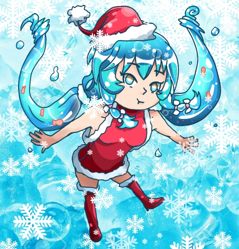 Yo there! Its my water waifu (Mizumi)