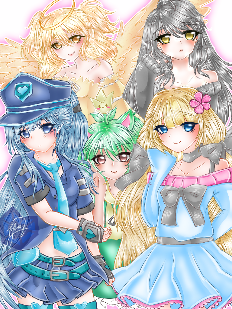 Gacha (Verse,Life and World) unit fanart