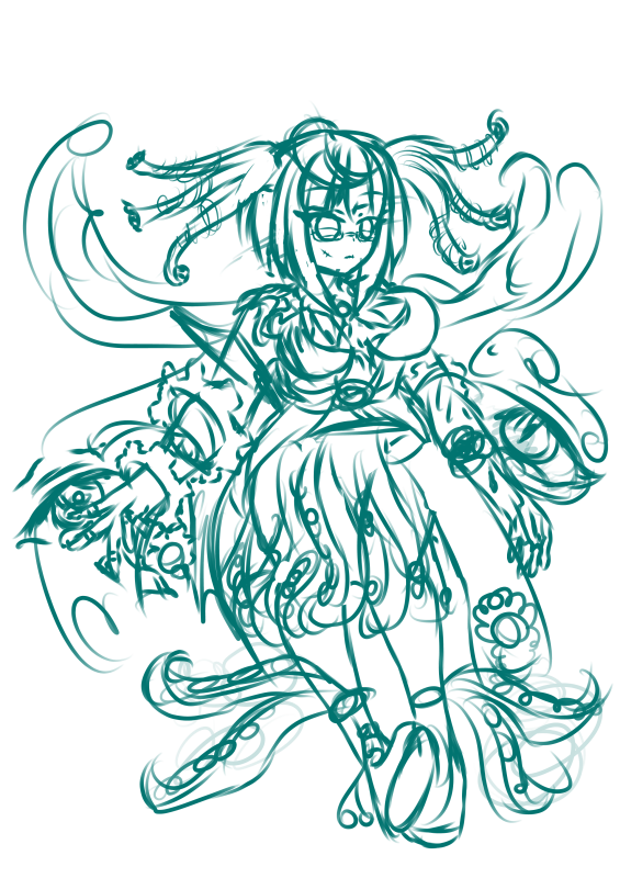 Aretha (Sketch)