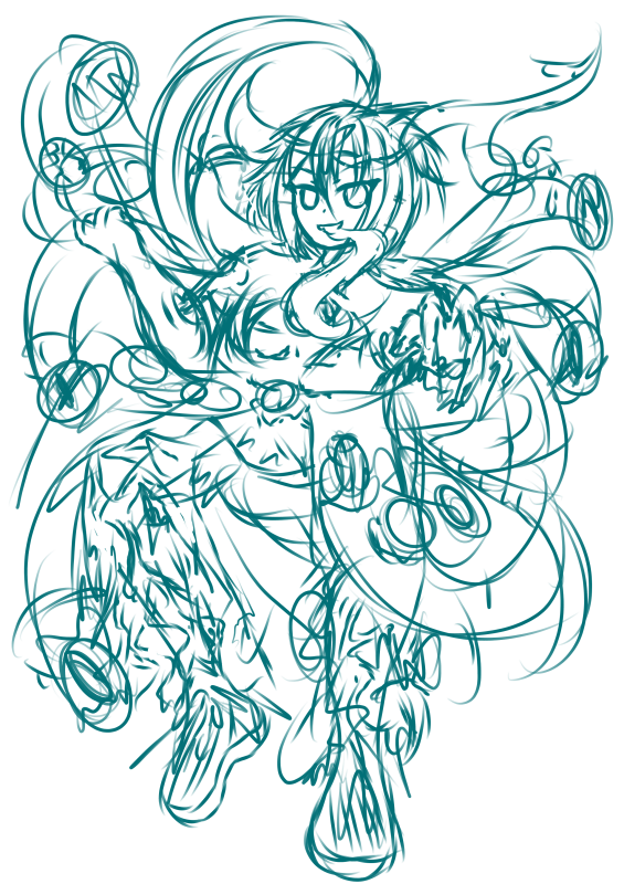 Awakened Nyarlathotep (Keith) (WIP)<br /> ----------<br /> Alias: The Crawling Chaos, The...