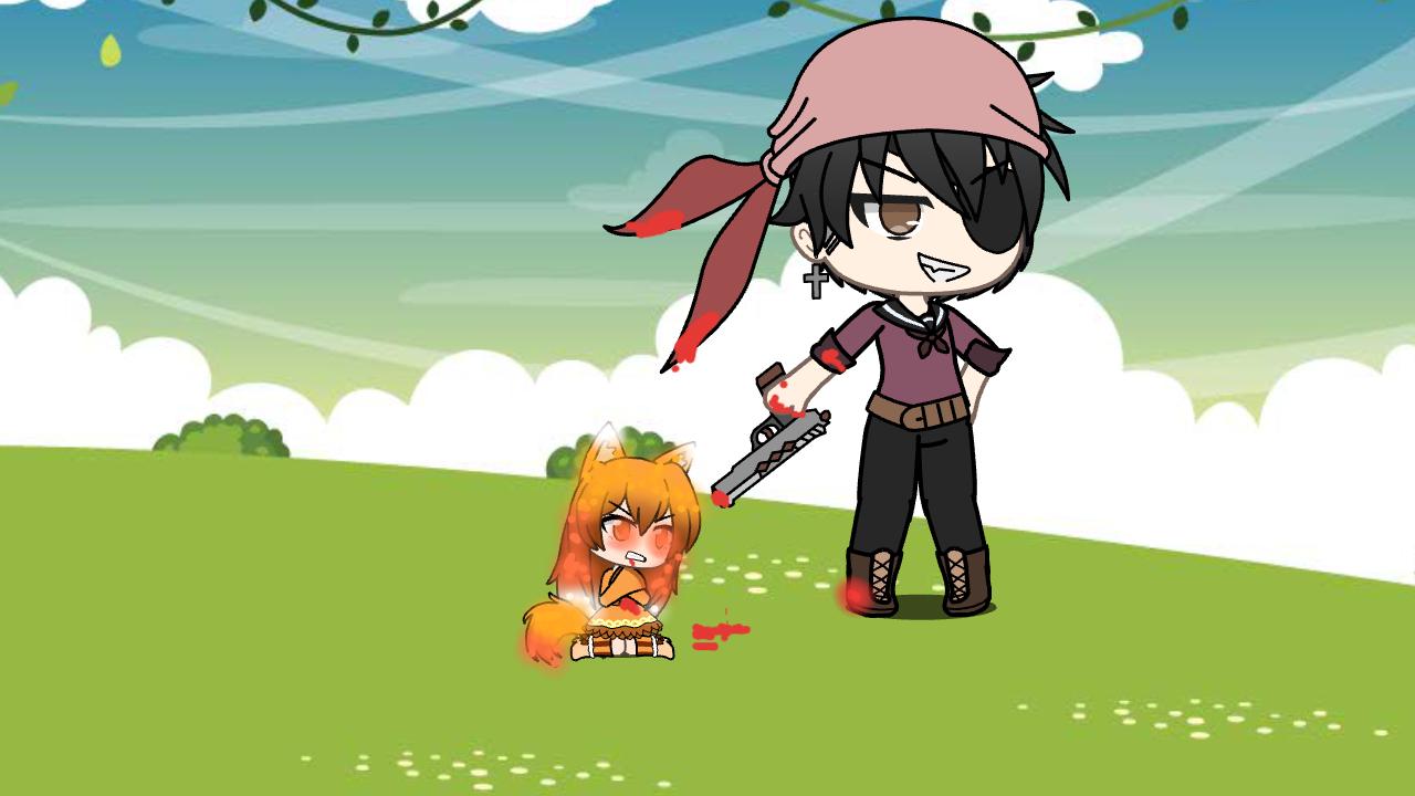 Chrono and a fox