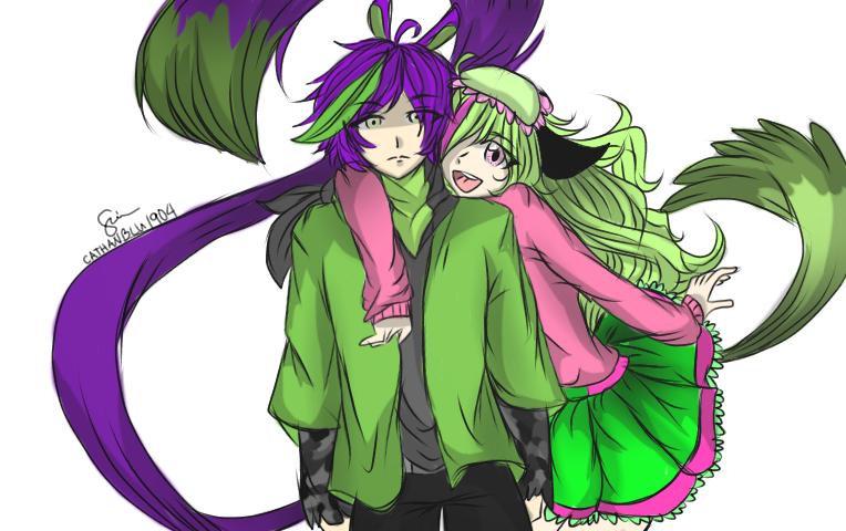 Rei and Jenna