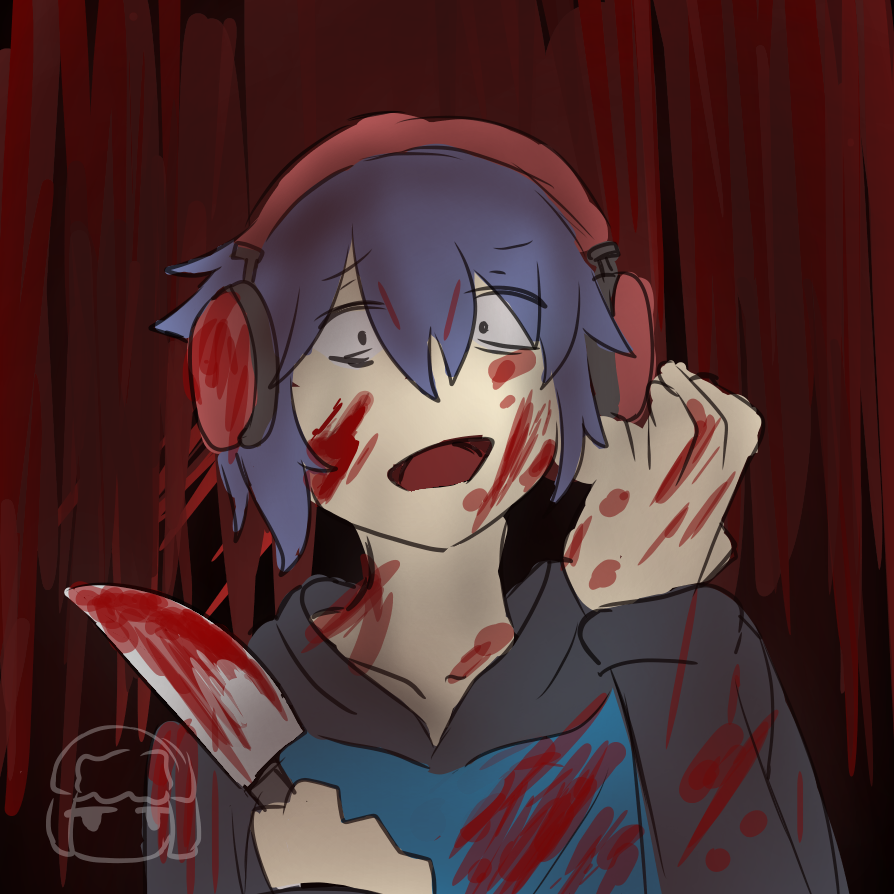 Yandere Pat(Sorry for the added Ketchup)