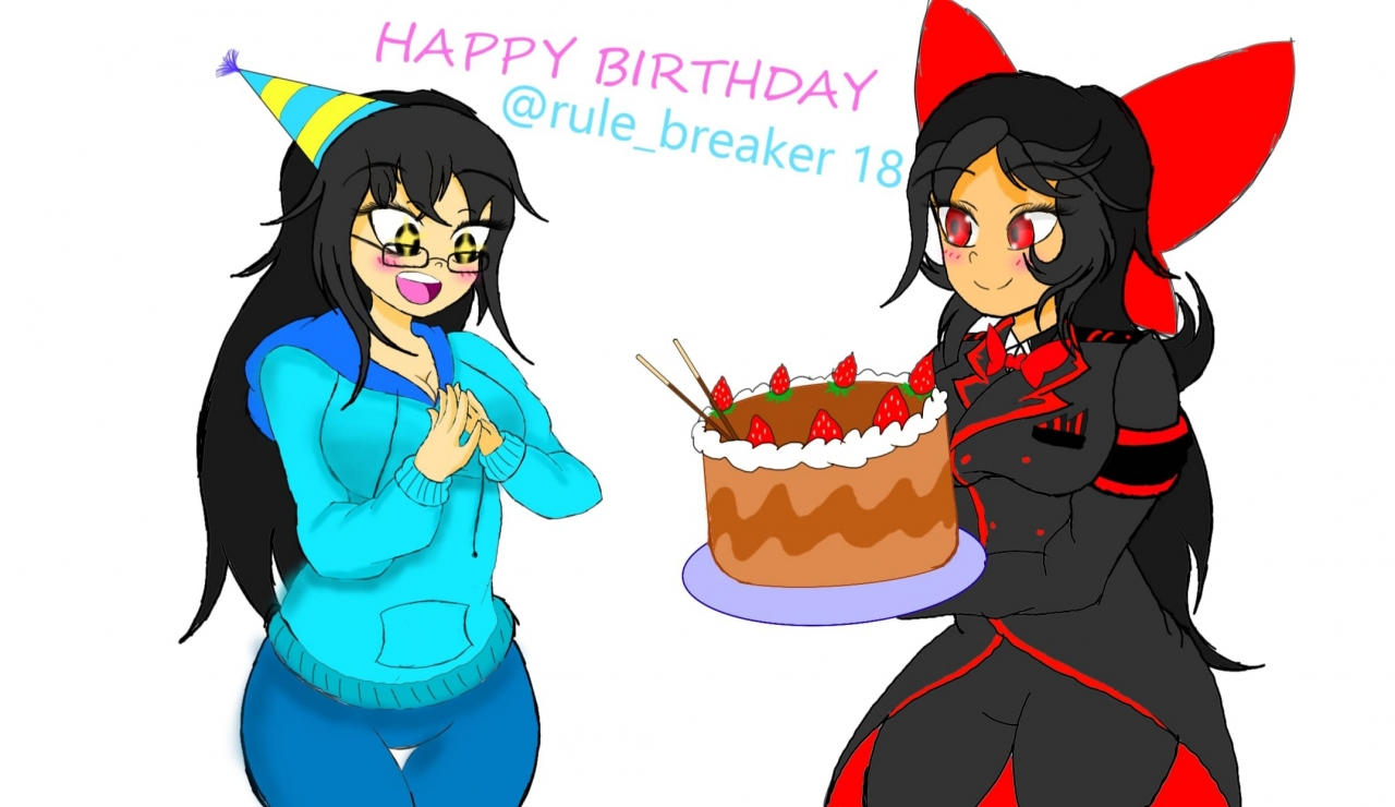 HAPPY (late...) BIRTHDAY RULEBREAKER!!!!! ^^