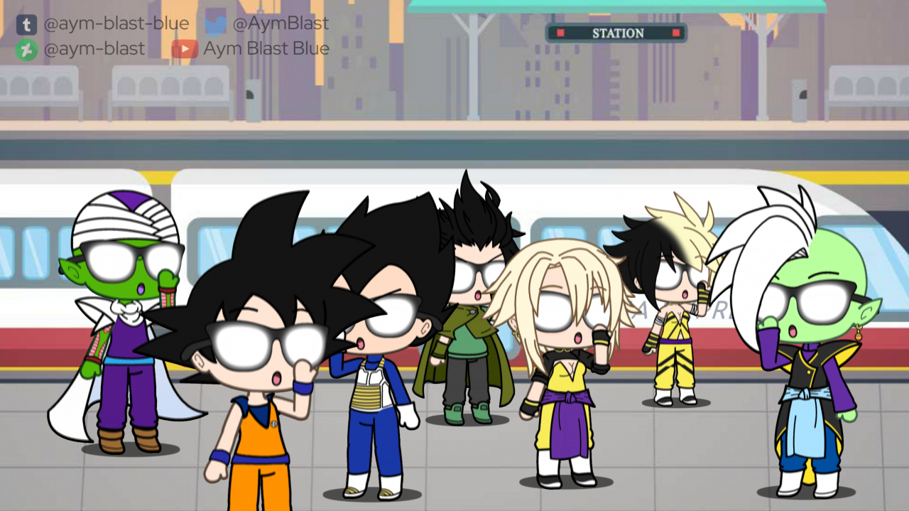 Chronicles Squad Affected by Anime Virus Glasses