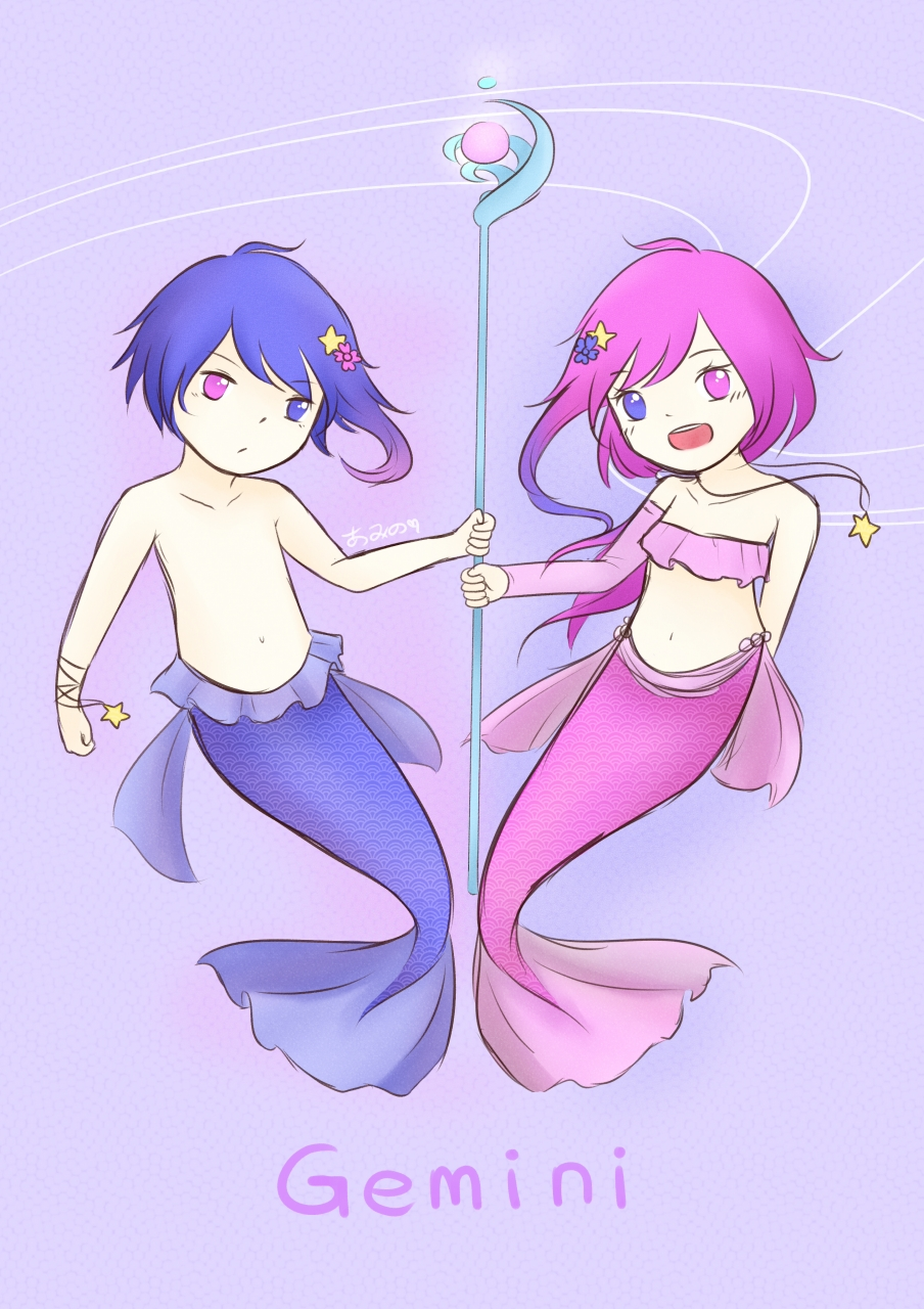 Mermaid AU