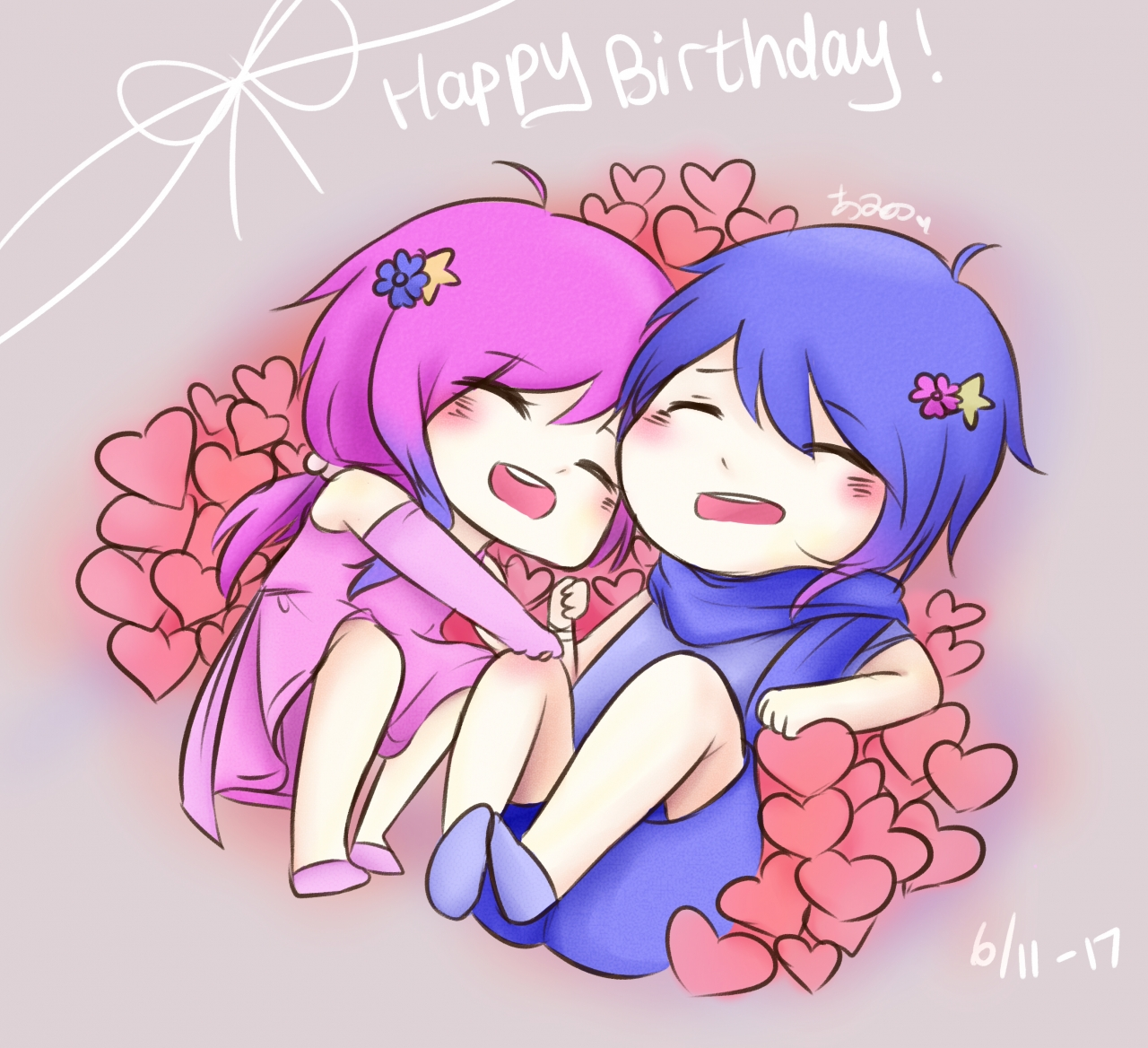 Happy Birthday Geminis !