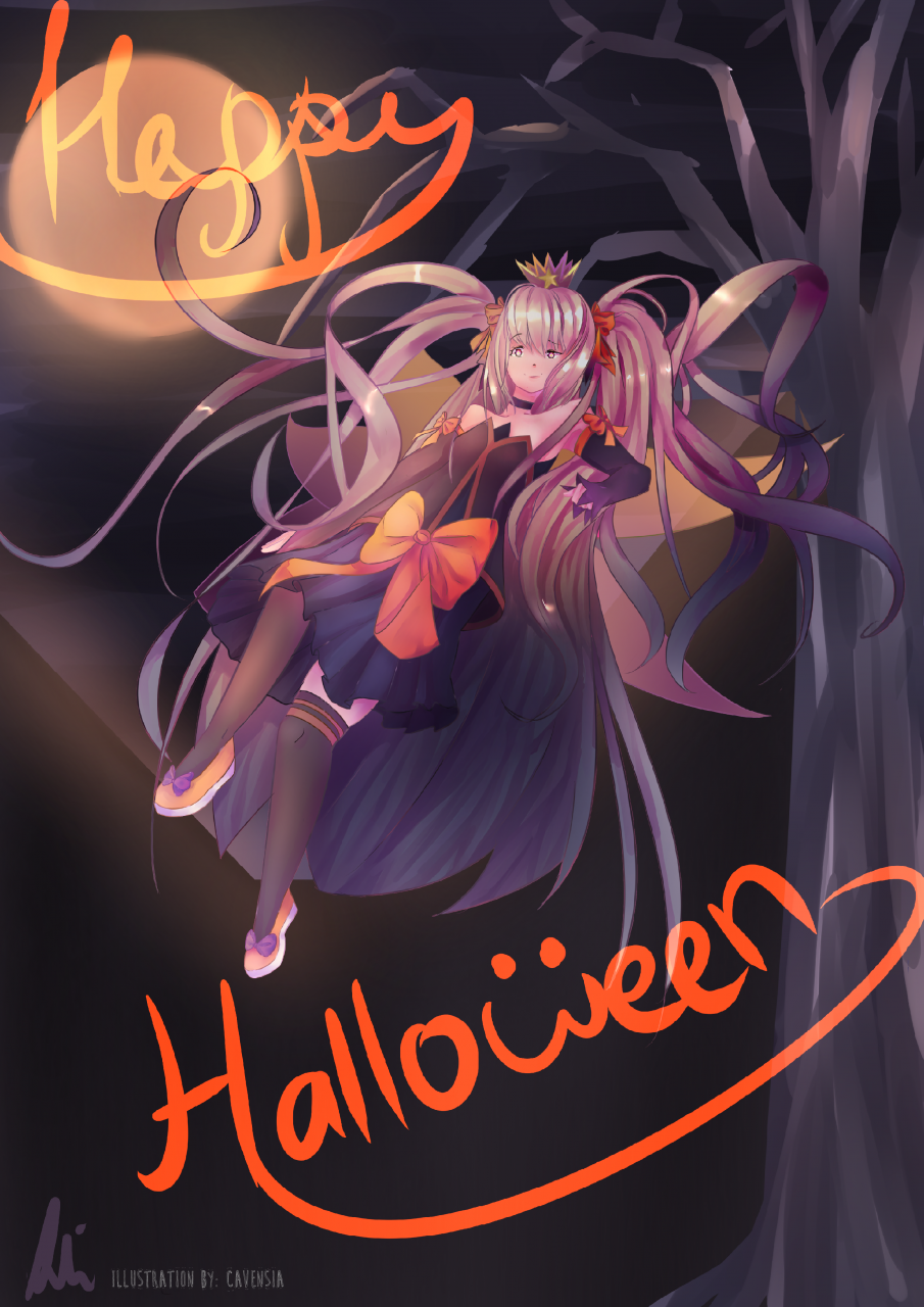 """photo """"halloween ellie"""" in the album """"halloween fan art submissions"""