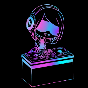 The DJ of her pride