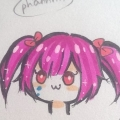 Chibi Kuku is sad